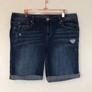 ❤️Aeropostale Bermuda Denim Shorts